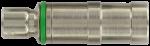 Conector de insercción para medios