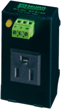 MSVD POWER SOCKET NEMA WITH LED