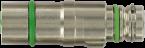 M12 MV insert shielded male snap / female