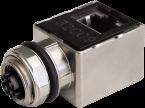adaptor M12 female x-cod. / RJ45 male 90° Gigabit