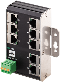 Xenterra 8TX unmanaged Switch wallmounted 8 Port 100Mbit WM