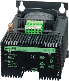 MEN POWER SUPPLY 1/2-PHASE, SMOOTHED