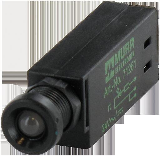 LED-INDICATOR OPAC / GREEN