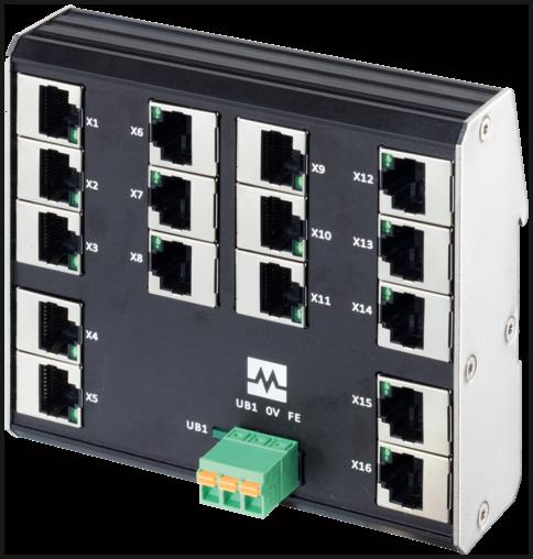 Xenterra 16TX unmanaged Switch 16 Port 100Mbit