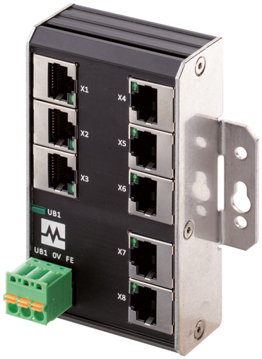 Xenterra 8TX unmanaged Switch 8 Port 1000Mbit wall mounting