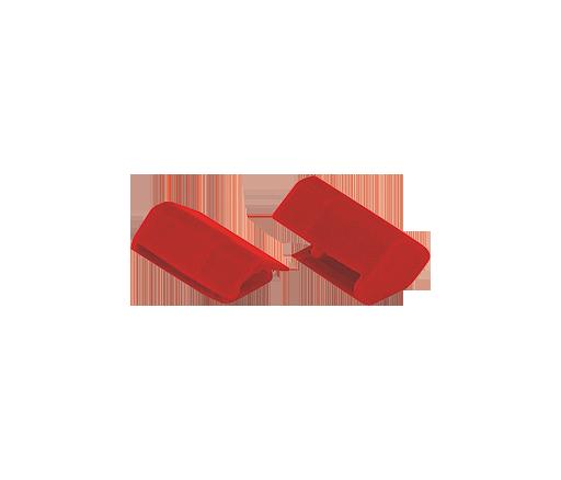 WIRING ACCESSORIE END CAP RED